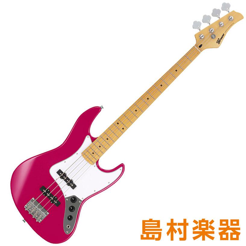 Greco WIB-J【グレコ】 Pearl MA PPK Pearl Pink エレキベース Maple Pink Fingerboard【グレコ】, インポートランジェリーflavor:5ebc1418 --- sunward.msk.ru