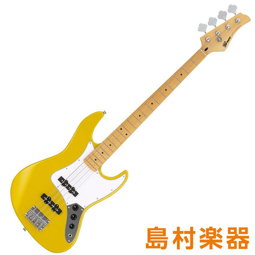 超美品の Greco YL WIB-J MA YL【グレコ】 Yellow エレキベース Maple Fingerboard【グレコ Maple】, 鴨方町:724accbf --- demo.merge-energy.com.my