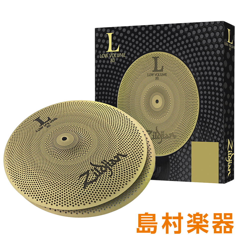 Zildjian Volume 14インチ LV8014HP-S ハイハットシンバル L80 Low Low Volume 14インチ【ジルジャン】, 高原町:3d7d4e9a --- officewill.xsrv.jp