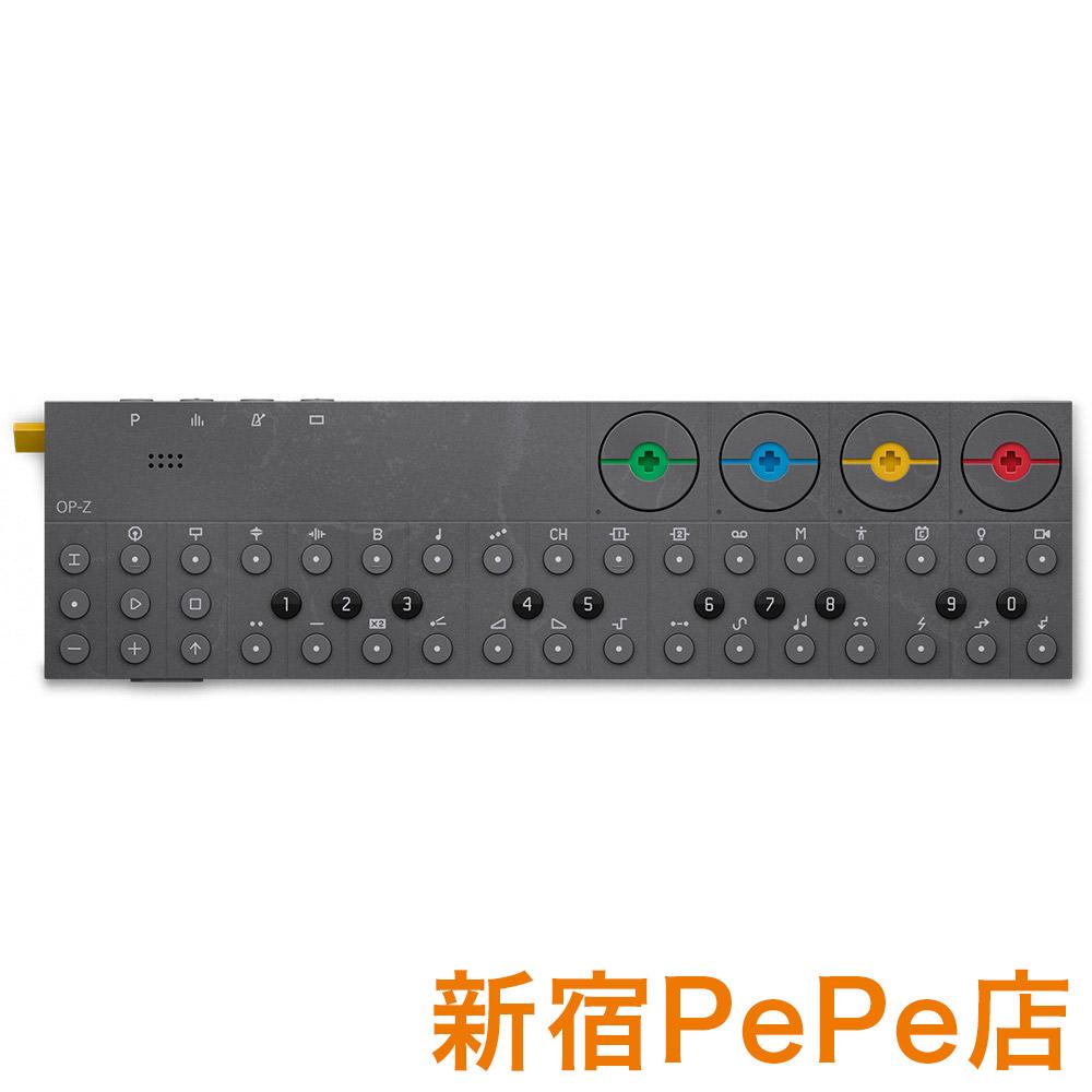 Teenage Engineering OP-Z マルチメディア・シンセサイザー/シーケンサー 【ティーンエイジ エンジニアリング】【新宿PePe店】