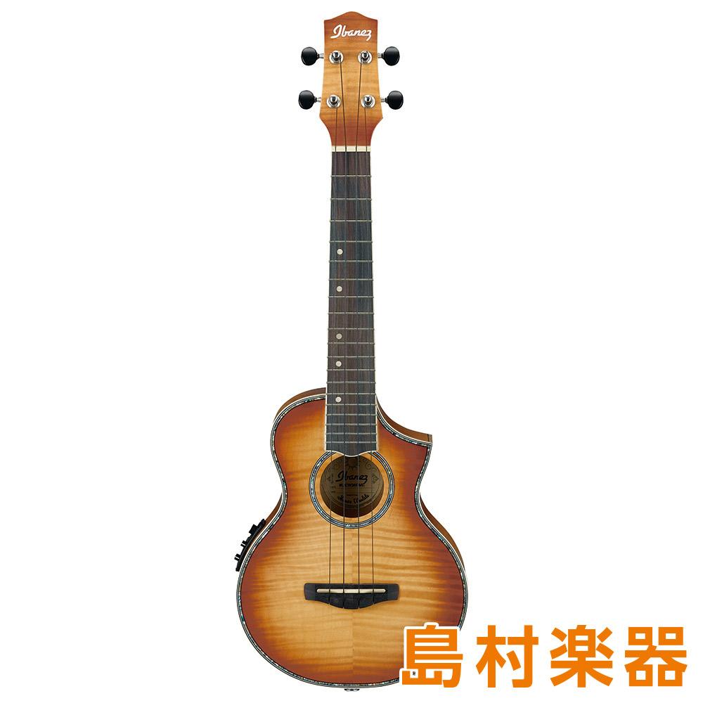 Ibanez UEW36FME-LBS カッタウェイ コンサートサイズ 【アイバニーズ UEW36FMELBS】