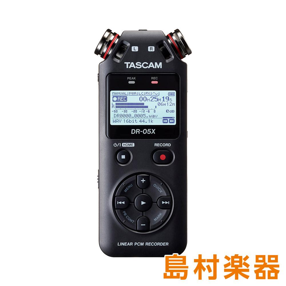 TASCAM DR-05X ハンディーレコーダー USBオーディオインターフェイス 【タスカム】