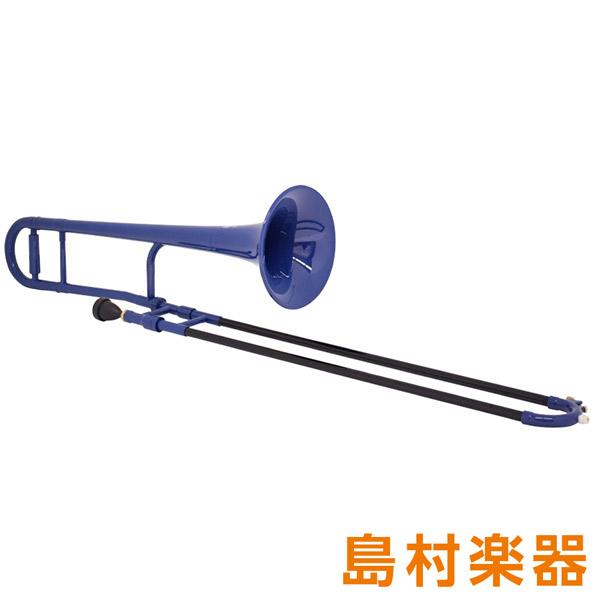ZO TTB-10 プラスチックテナートロンボーン / 細管 ダークブルー 【 プラ管】
