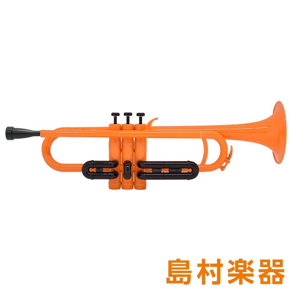 ZO TP-11BK プラスチックトランペット オレンジ / ブラックトリム