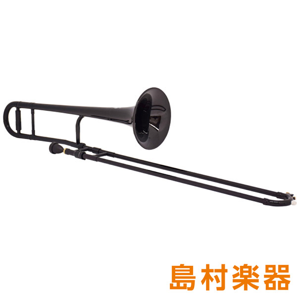 ZO TTB-05 プラスチックテナートロンボーン/細管 ブラック 【 プラ管】