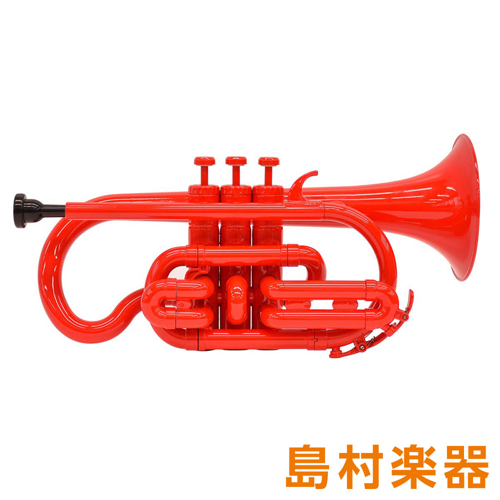 ZO CN-01 プラスチックコルネット レッド 【 プラ管】