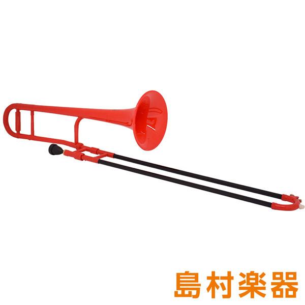 ZO TTB-01 プラスチックテナートロンボーン/細管 レッド 【 プラ管】