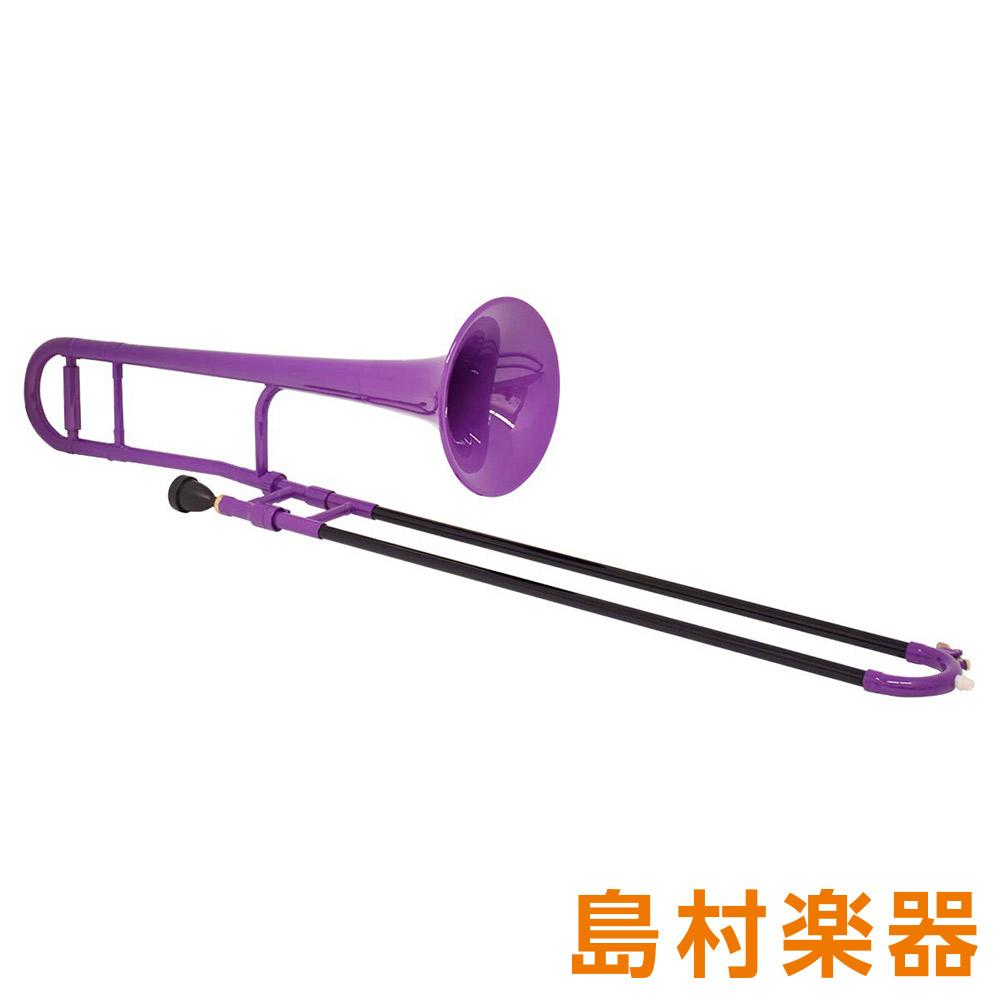 ZO TTB-04 プラスチックテナートロンボーン/細管 パープル 【 プラ管】
