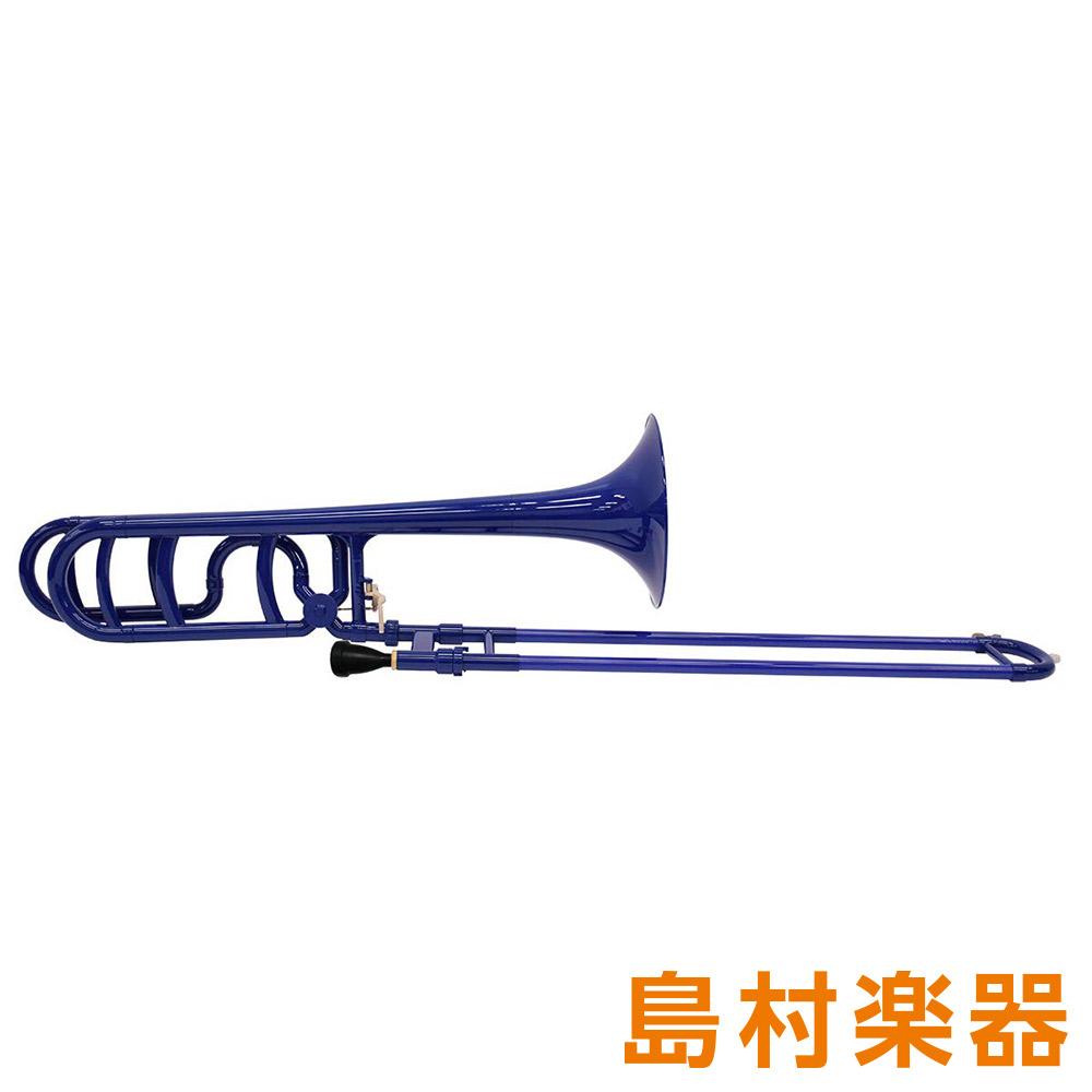ZO TB-10BK プラスチックテナーバストロンボーン/太管 ダークブルー 【 プラ管】