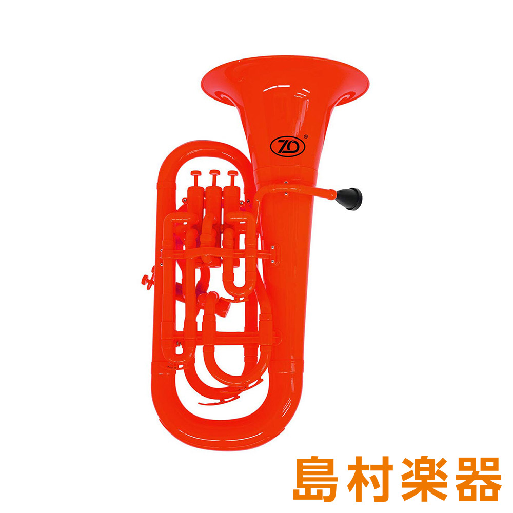 ZO EU-01 プラスチックユーフォニアム レッド 【 プラ管】