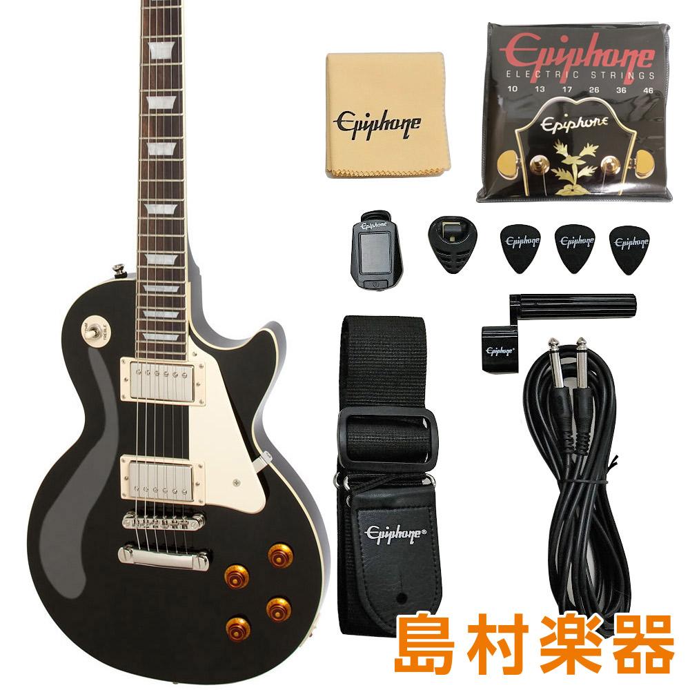 Epiphone Les Paul Standatd Lite / Ebony エレキギターレスポールスタンダード 【エピフォン】【軽量モデル】