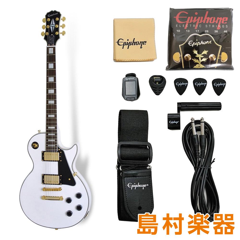 Epiphone Les Paul Custom Pro Lite / Alpine White エレキギター レスポールカスタム 【エピフォン】【軽量モデル】