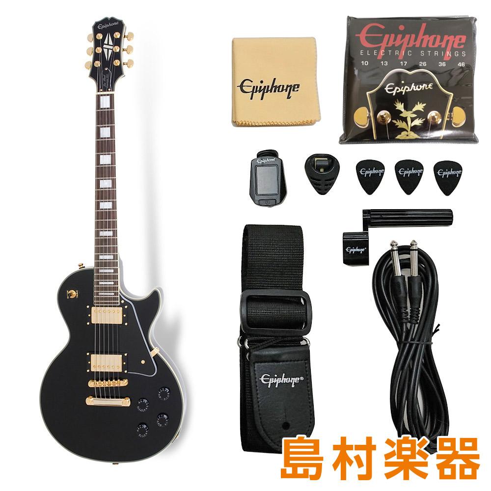 Epiphone Les Paul Custom Pro Lite / Ebony エレキギター レスポールカスタム 【エピフォン】【軽量モデル】