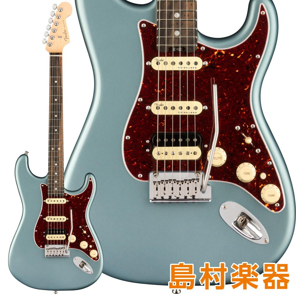 Fender American Elite Stratocaster HSS ShawBucker Ebony Fingerboard Satin Ice Blue Metallic エレキギター 【フェンダー】