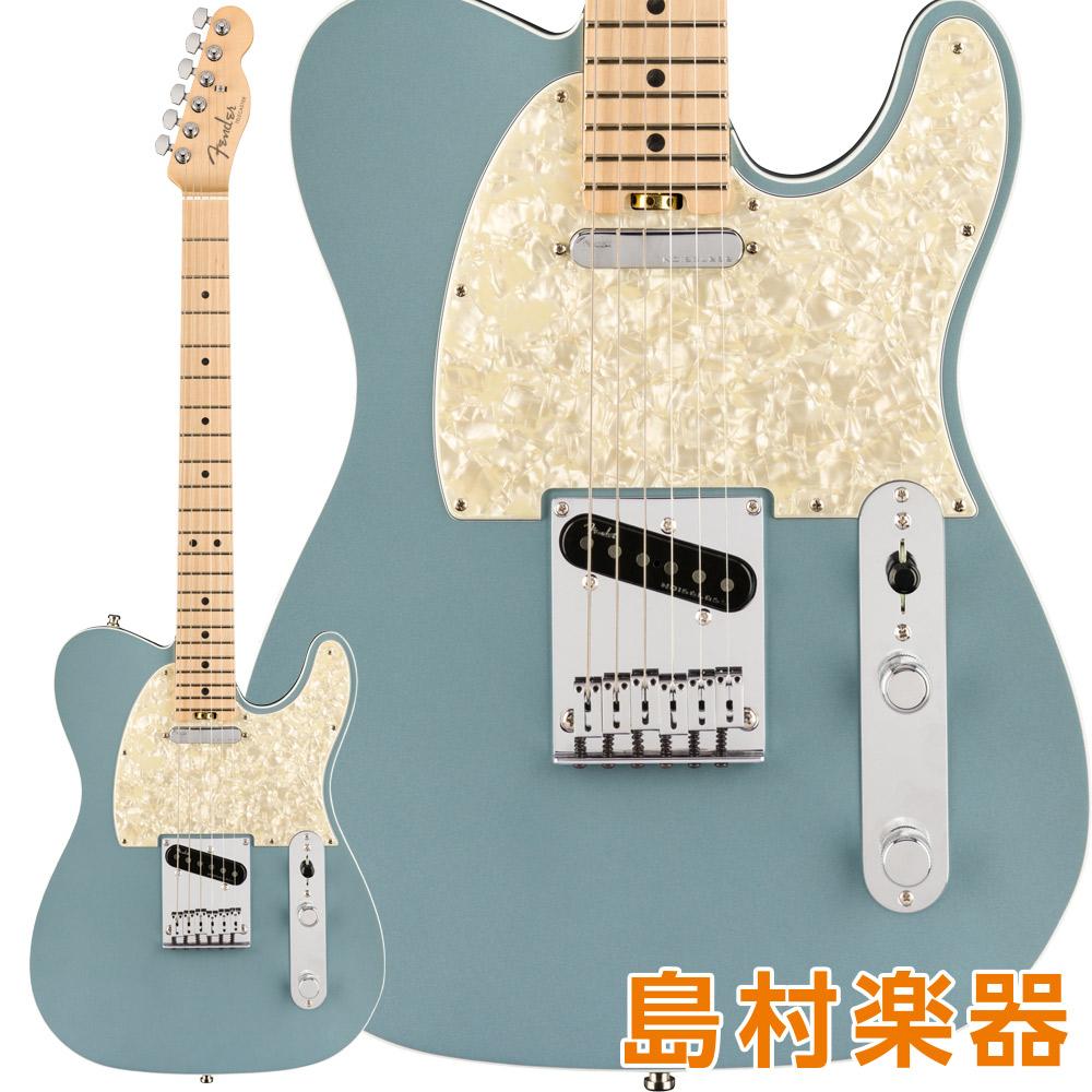 Fender American Elite Telecaster Maple Fingerboard Satin Ice Blue Metallic エレキギター 【フェンダー】