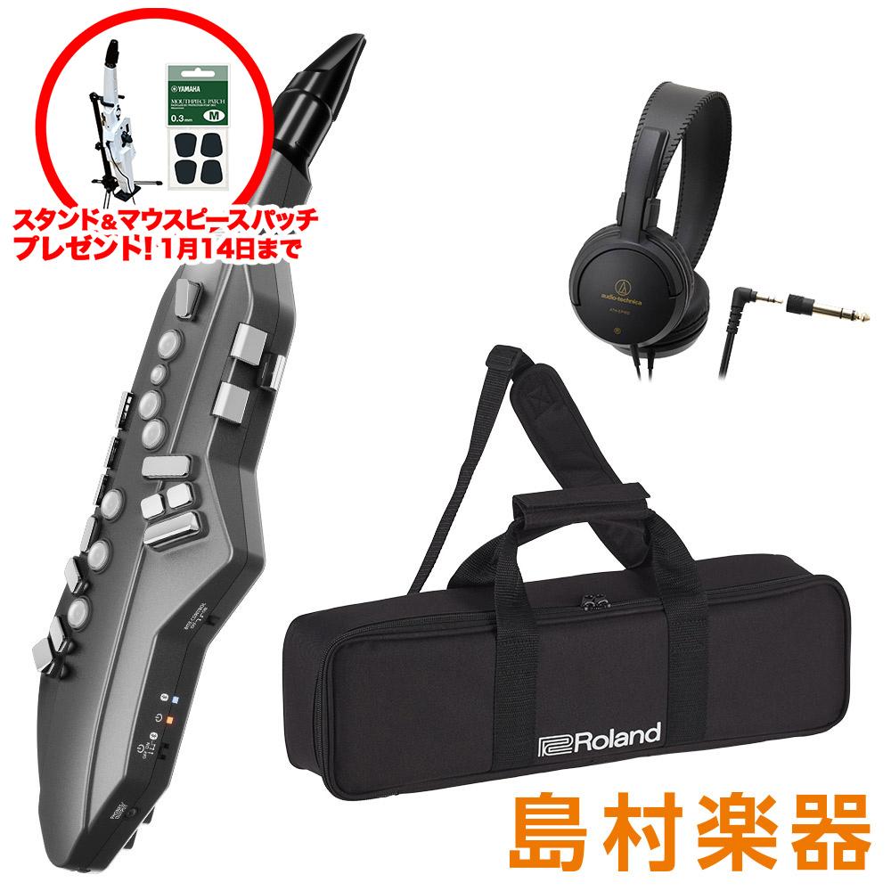 Roland Aerophone GO AE-05 + [ヘッドホン]セット ウインドシンセサイザー [Bluetooth]対応 【ローランド AE05】