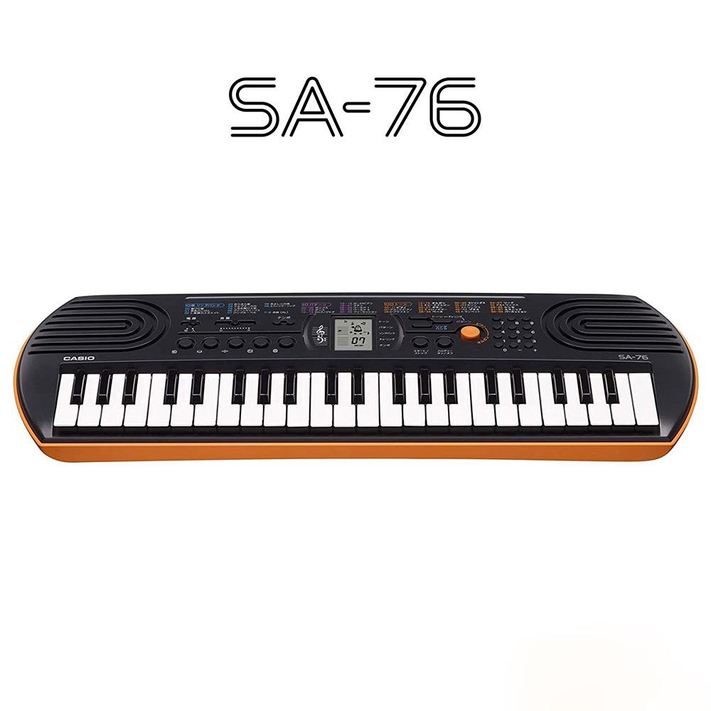 キーボード 電子ピアノ CASIO SA-76 ミニキーボード SA76 カシオ セール特価品 楽器 44鍵盤 高級