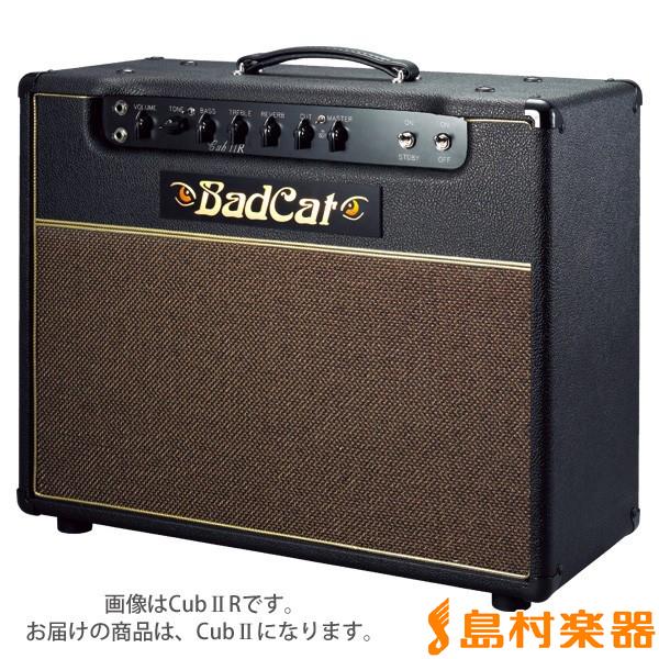 BadCat Cub II エレキギターアンプ 15W 【フルチューブ】 【バッドキャット】【在庫限りの特別価格】