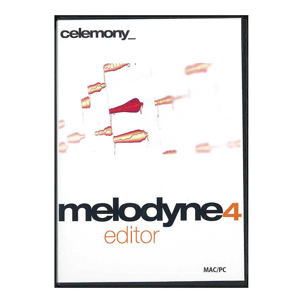CELEMONY melodyne4 editor ピッチ補正ソフト 【セレモニー】