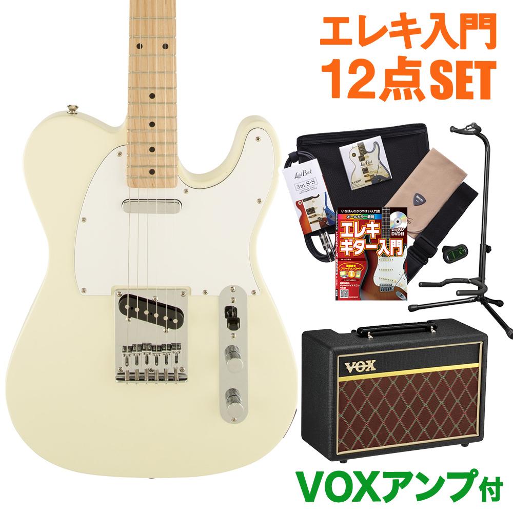 Squier by Fender Affinity Telecaster AWT(アークティックホワイト) エレキギター 初心者 セット VOXアンプ テレキャスター 【スクワイヤー / スクワイア】