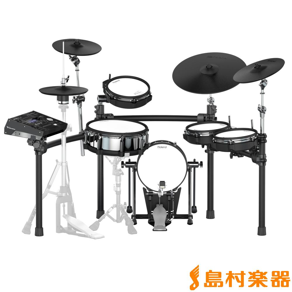 【10,000円キャッシュバック♪1/13まで】 Roland TD-50K-S 電子ドラム セット Vドラム V-Drums 【ローランド TD50KS】
