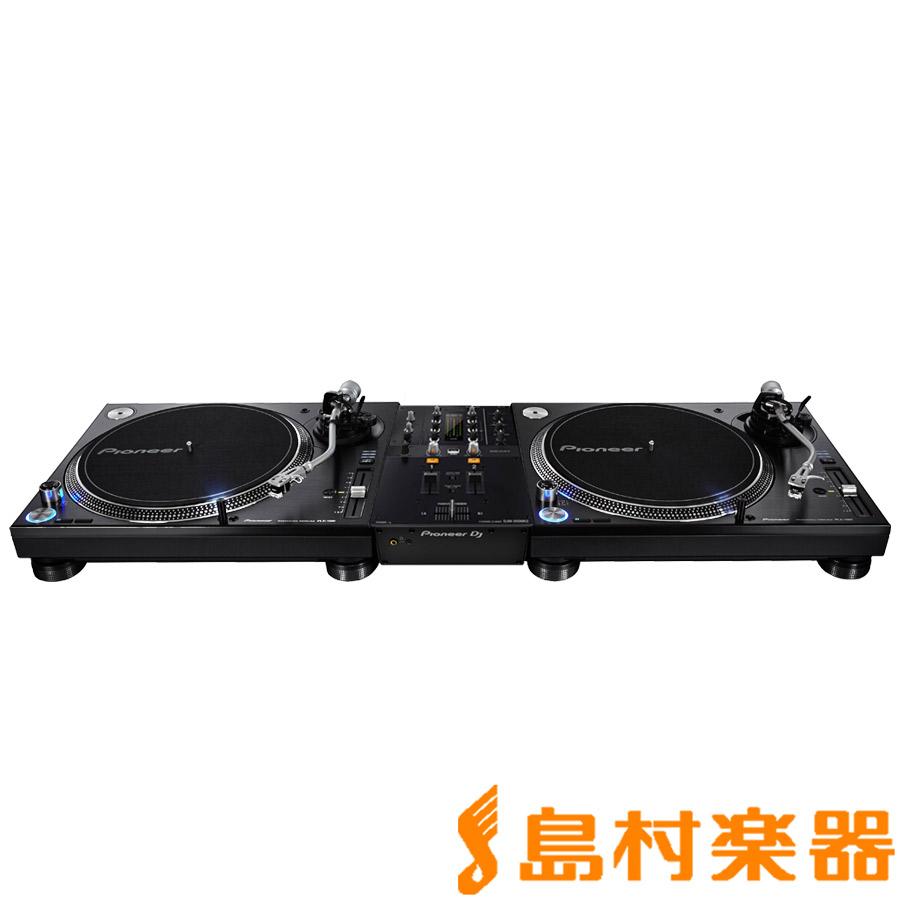 Pioneer DJ PLX-1000 + DJM-250MK2(ミキサー) アナログDJセット 【パイオニア】