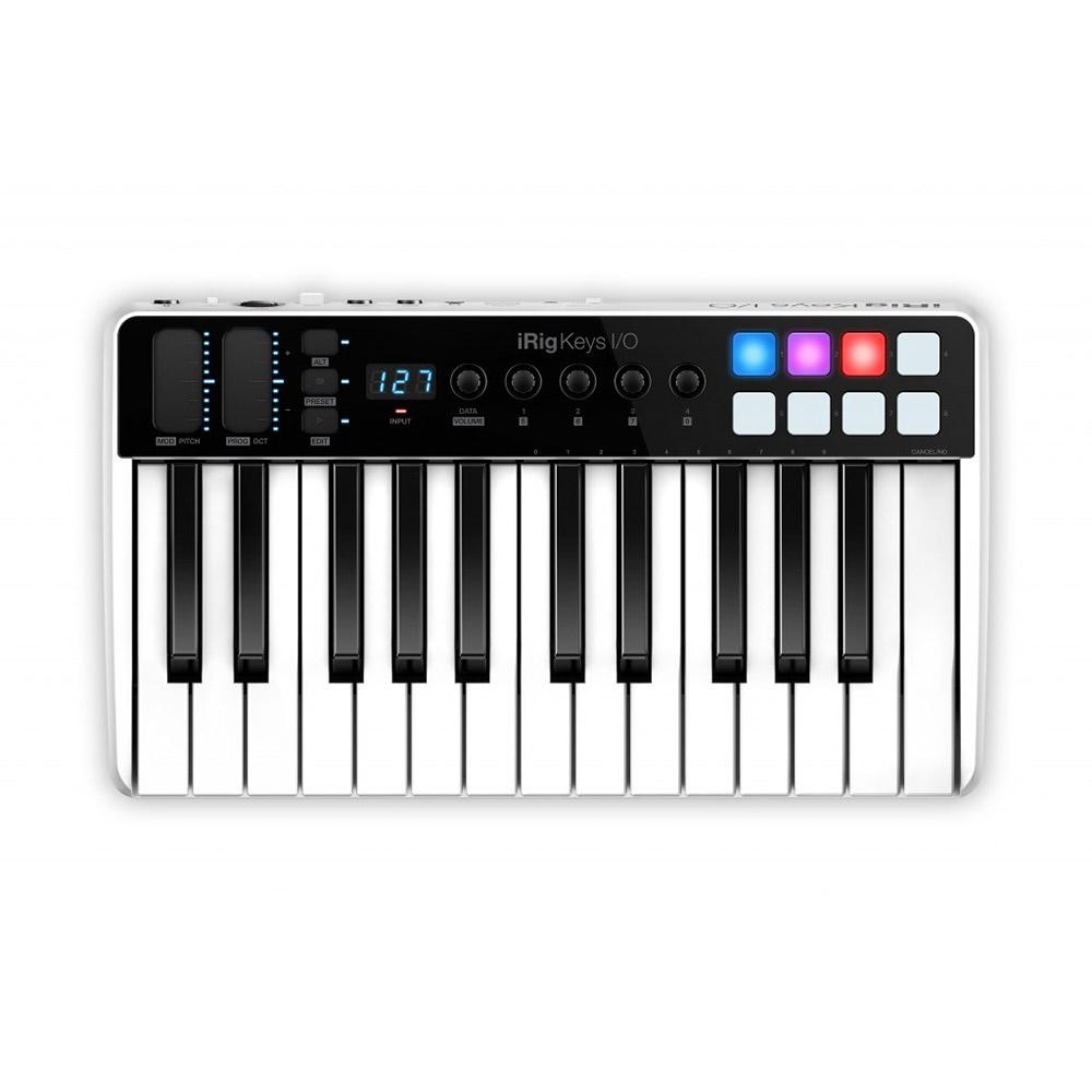 IK Multimedia iRig Keys I/O 25 MIDIキーボード 25鍵盤 [オーディオインターフェイス機能付き] 【IKマルチメディア】