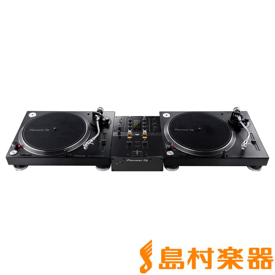 Pioneer DJ PLX-500-K + DJM-250MK2(ミキサー) アナログ DJセット 【パイオニア】
