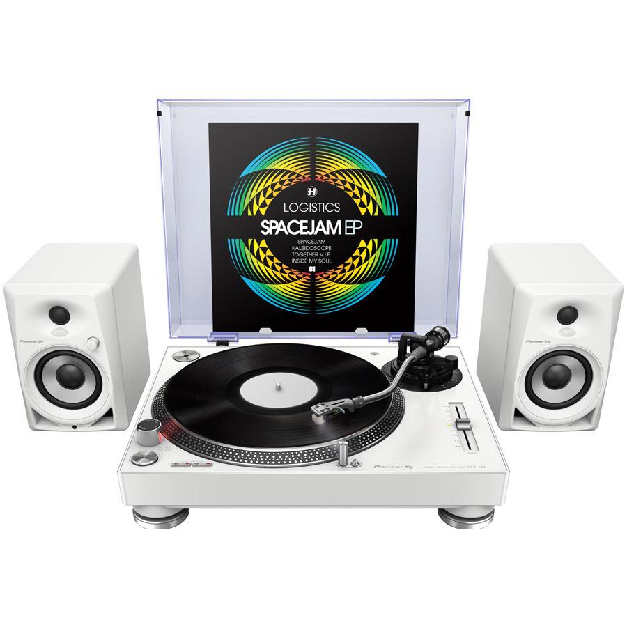 Pioneer DJ PLX-500-W + DM-40-W レコードプレーヤーセット 【パイオニア】