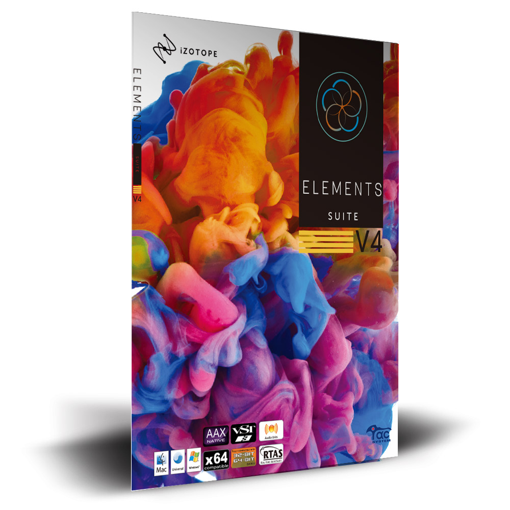iZotope Elements Suite V4 【アイゾトープ】