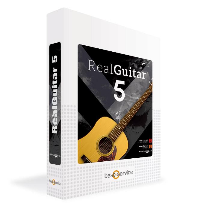 Music Lab REAL GUITAR 5 / BOX アコースティックギター音源 【ミュージックラボ MLRG5】