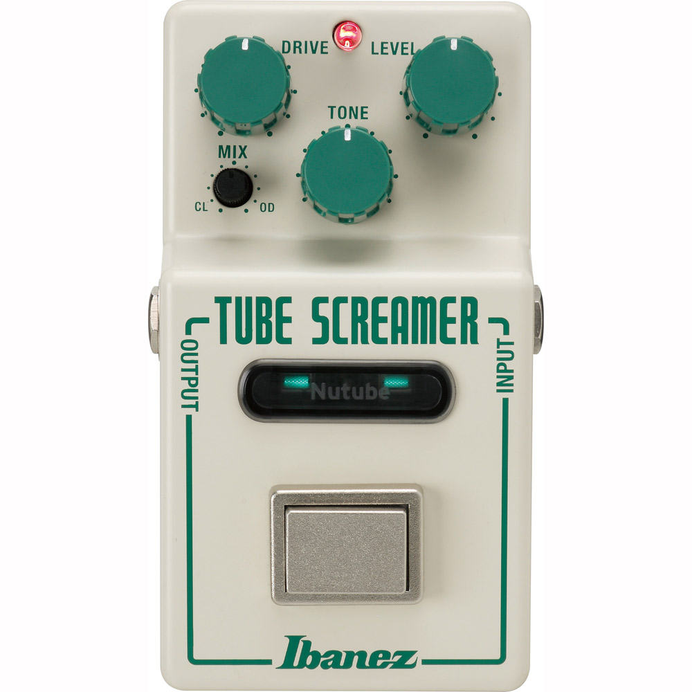 Ibanez NTS コンパクトエフェクター 【Tube Screamer×KORG Nutube】 【オーバードライブ】 【アイバニーズ】