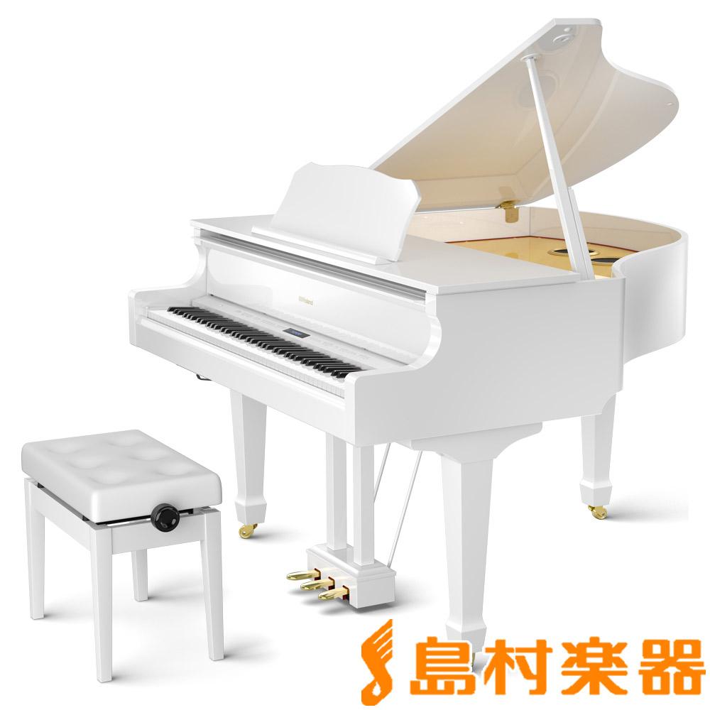 【8/31迄 ヒット曲入りUSBプレゼント】 Roland GP609 PWS 電子ピアノ 88鍵盤 【ローランド】【配送設置無料・代引き払い不可】