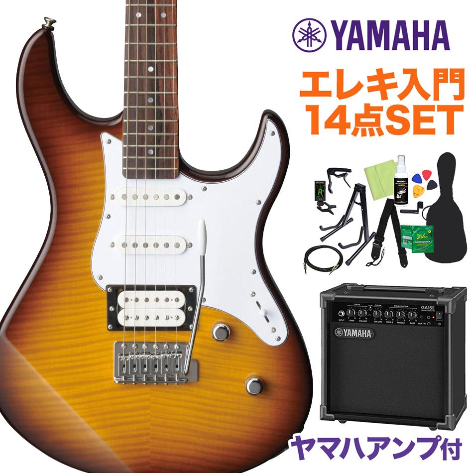 YAMAHA PACIFICA212VFM TBS 初心者14点セット 【ヤマハアンプ付き】 【ヤマハ】【オンラインストア限定】