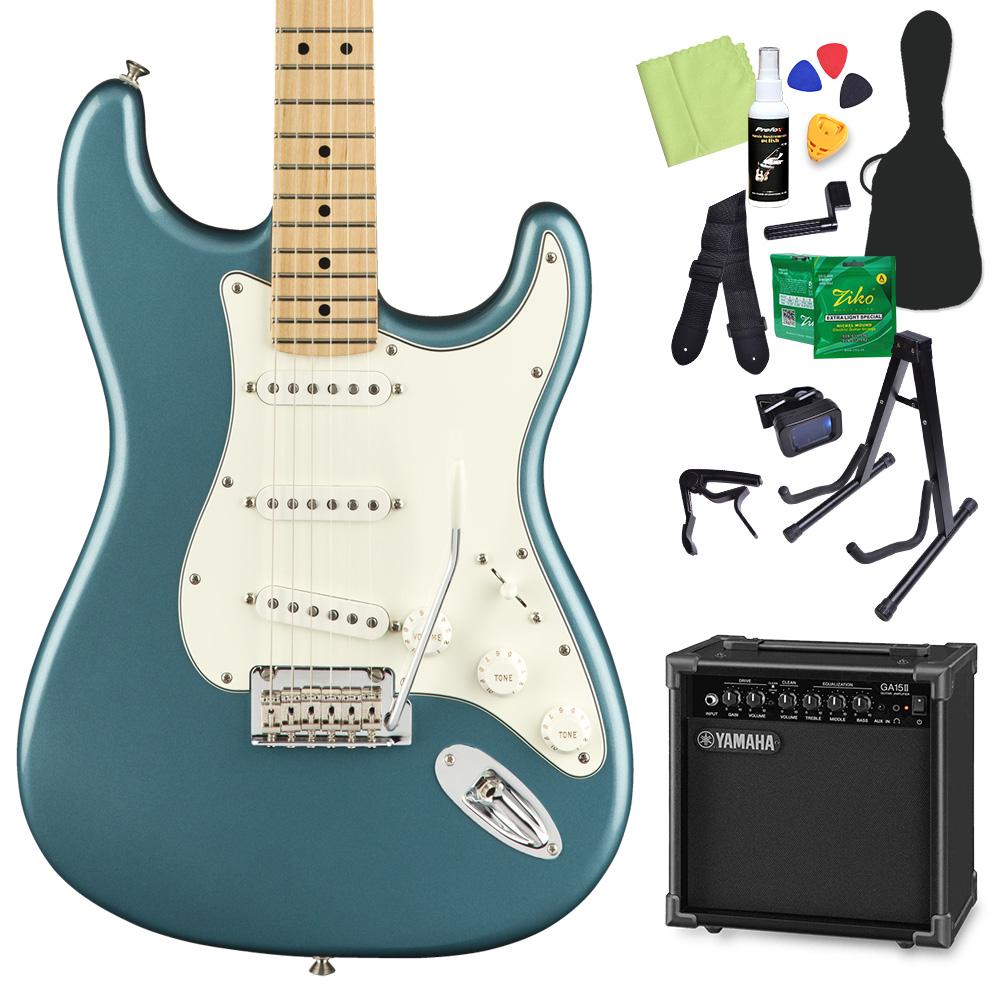 Fender Player Stratocaster Maple Tidepool エレキギター 初心者14点セット 【ヤマハアンプ付き】 【フェンダー】【オンラインストア限定】