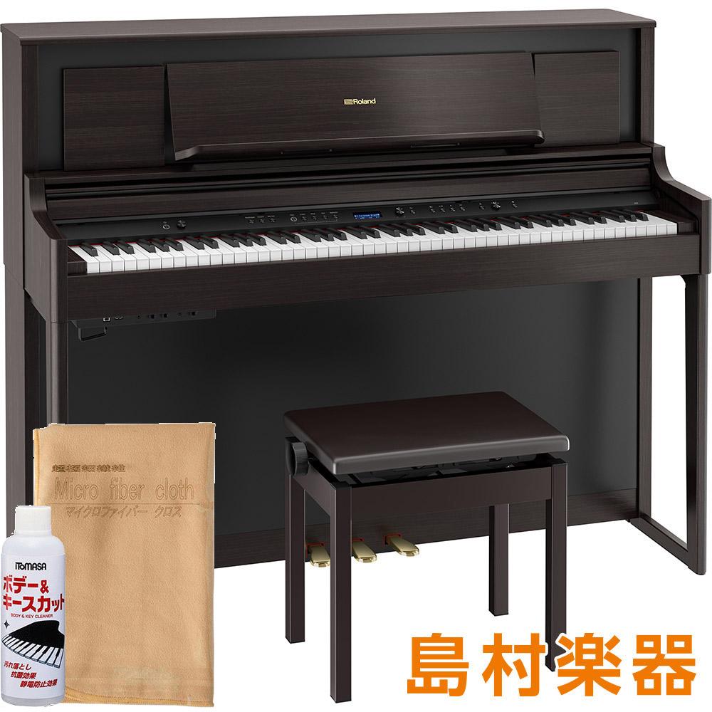 【8/31迄 ヒット曲入りUSBプレゼント】 Roland LX706 DRS 電子ピアノ 88鍵盤 ダークローズウッド調仕上げ 【ローランド】【配送設置無料・代引き払い不可】