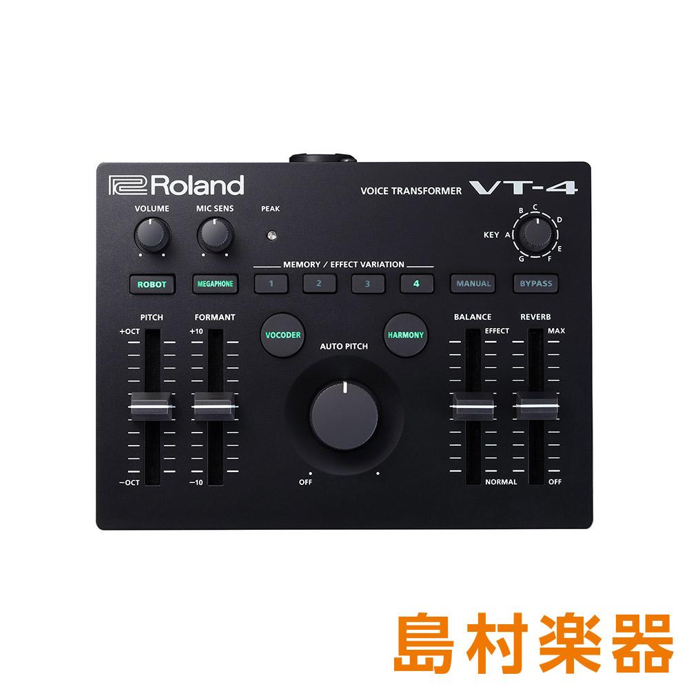 Roland AIRA VT-4 Voice Transformer ボイストランスフォーマー 【ローランド VT4】 【Youtuber ユーチューバー VTuber ゲーム実況 歌ってみた 弾いてみた ボーカル】