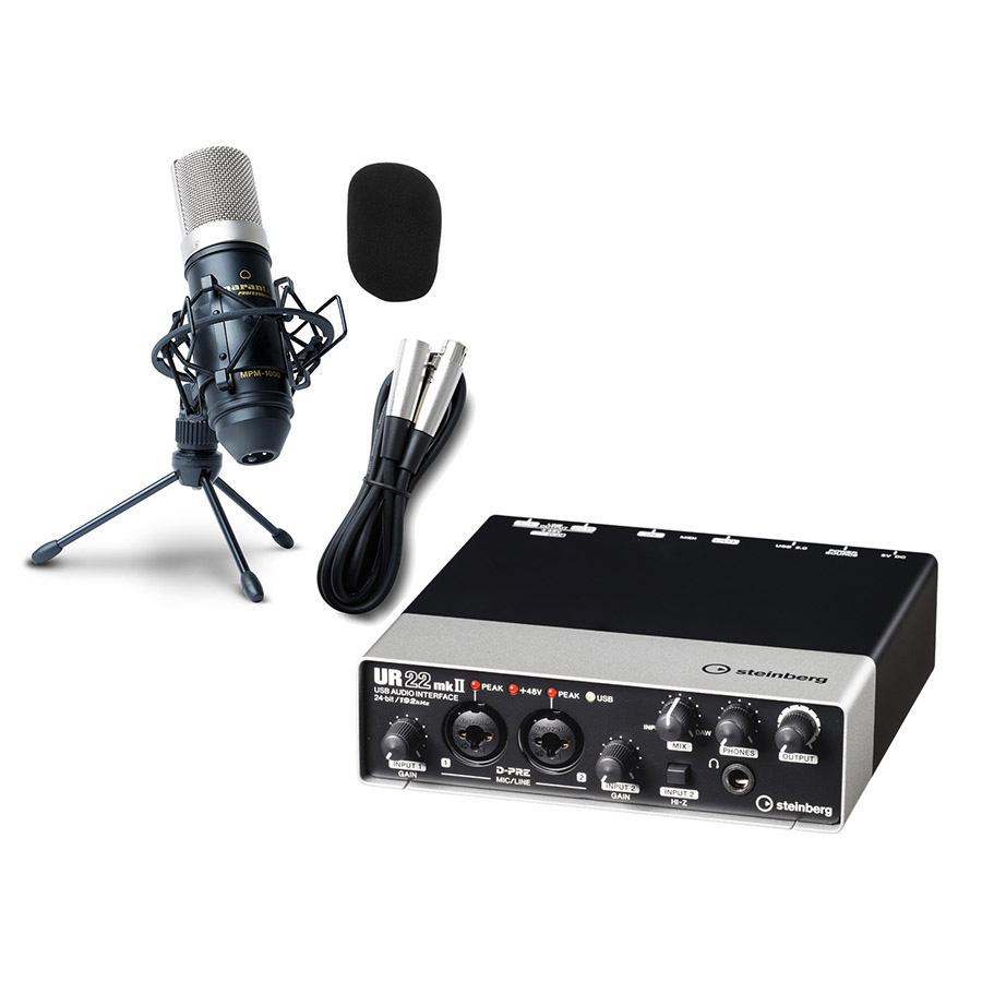 【数量限定 ozone8 elementsプレゼント!】 steinberg UR22mkII 高音質配信 録音セット 動画配信 【スタインバーグ】