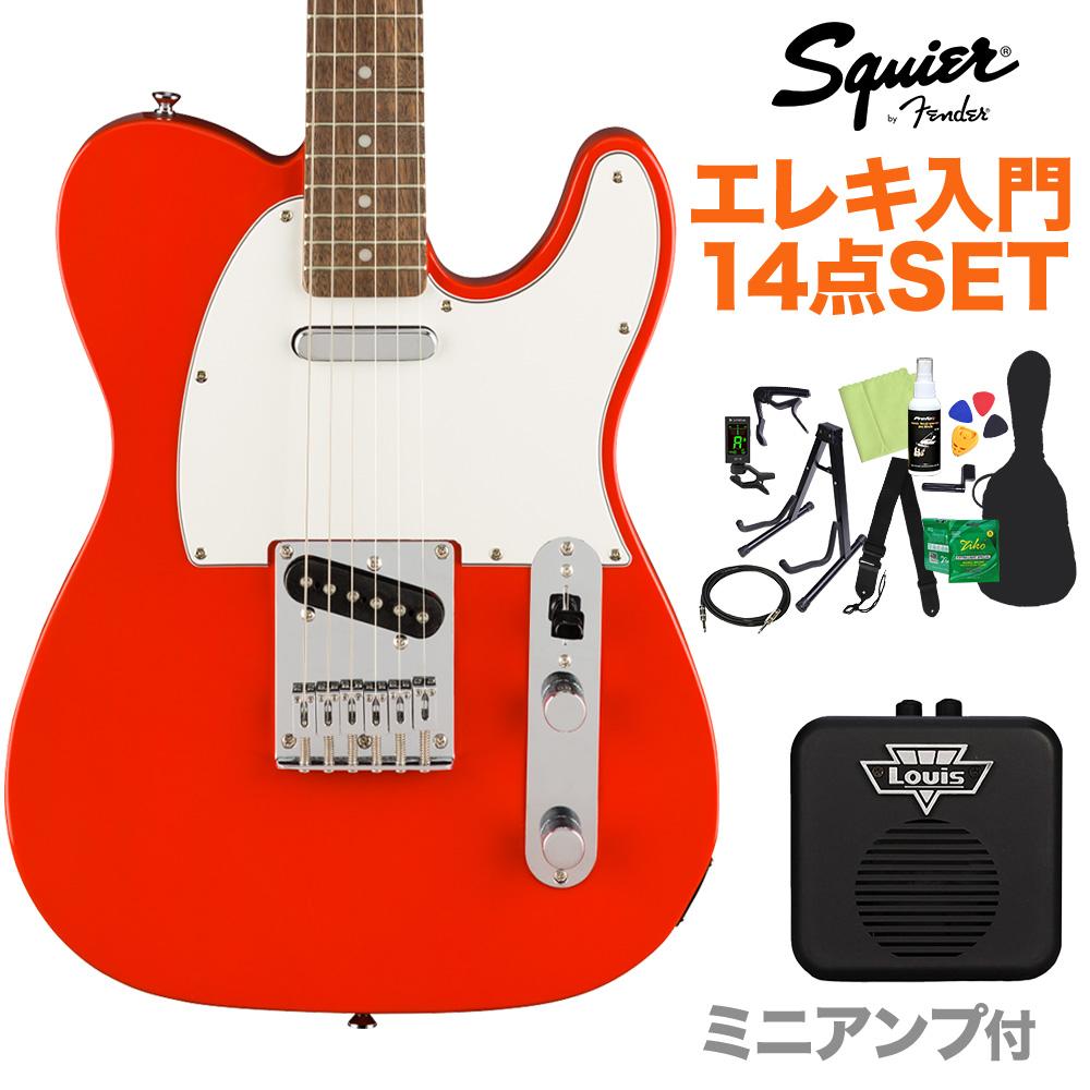 Squier by Fender Affinity Series Telecaster Series Laurel Fingerboard Affinity Fender Race Red エレキギター 初心者14点セット【ミニアンプ付き】 テレキャスター【スクワイヤー/ スクワイア】【オンラインストア限定】, 栖本町:728f0695 --- sunward.msk.ru