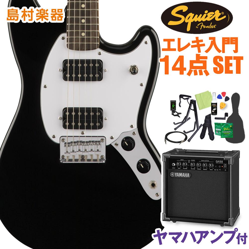 Squier by Fender Bullet Mustang【スクワイヤー HH 初心者14点セット Laurel Squier Fingerboard Black エレキギター 初心者14点セット【ヤマハアンプ付き】 ムスタング【スクワイヤー/ スクワイア】【オンラインストア限定】, 本格キムチの店 丸福:55eadaf5 --- sunward.msk.ru