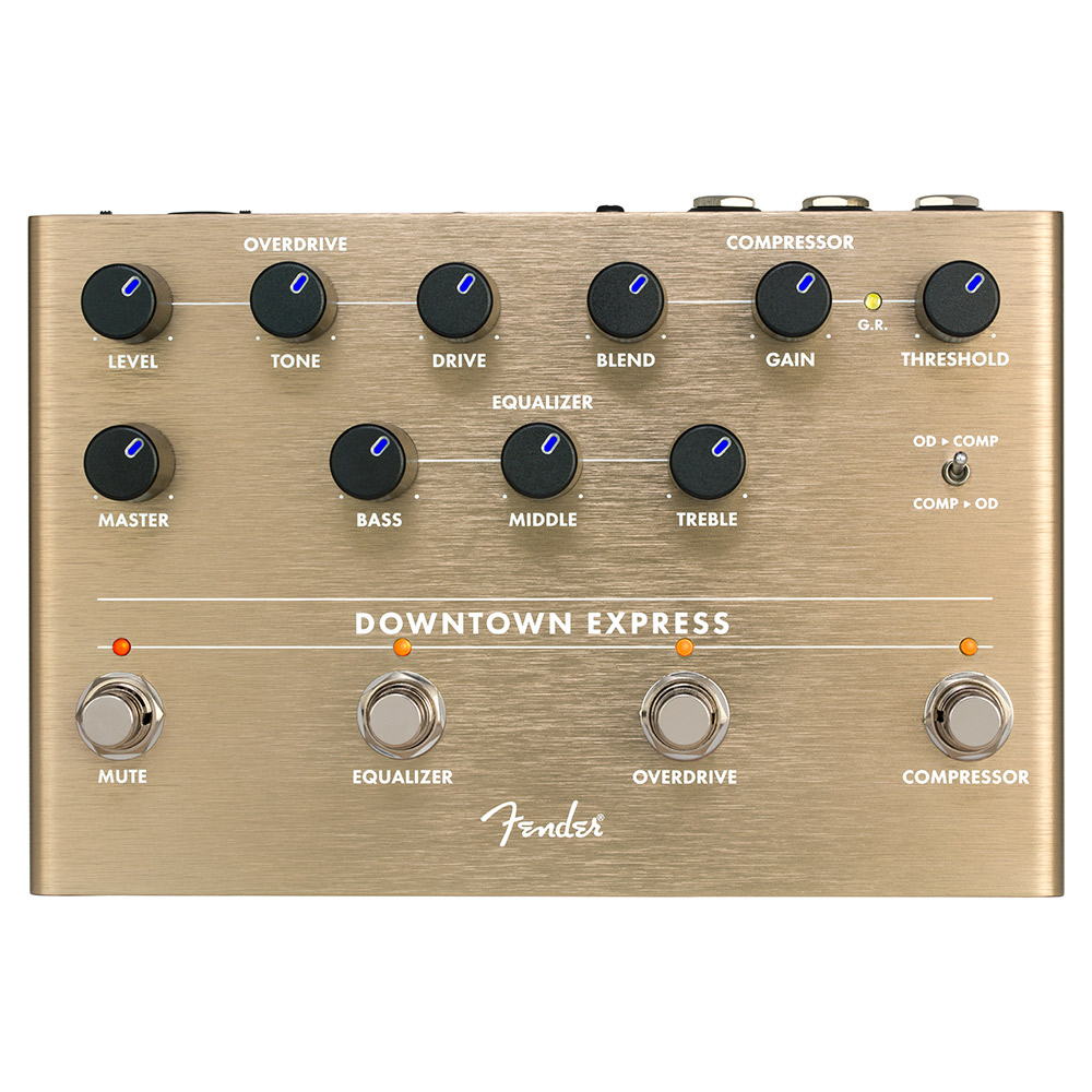 Fender Downtown Express Bass Multi Effect ベース用マルチエフェクター 【フェンダー】