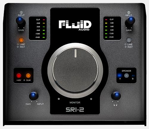 [数量限定 スピーカー接続用ケーブルプレゼント] Fluid Audio SRI-2 オーディオインターフェイス 【フルイドオーディオ SRI2】