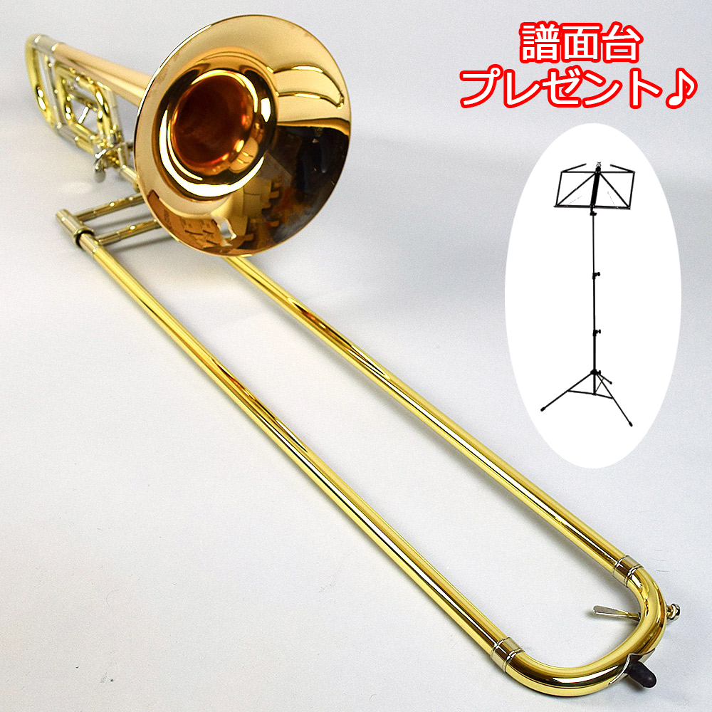 【1本限りB級品】Bach 42B GB ゴールドブラスベル ラッカー仕上げ トロンボーン 【バック】【正規代理店による検品調整済み】