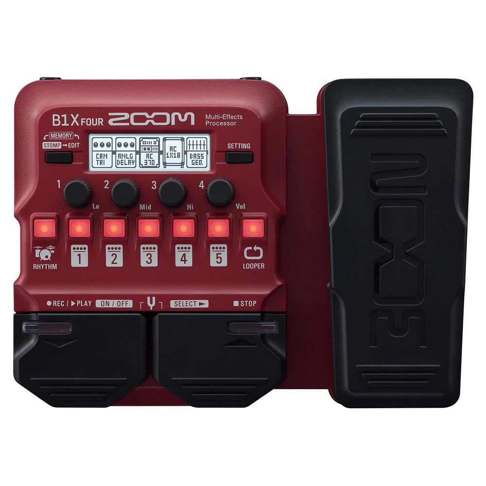 ZOOM B1X FOUR Multi-Effects Processor ベース用マルチエフェクター 【ズーム】