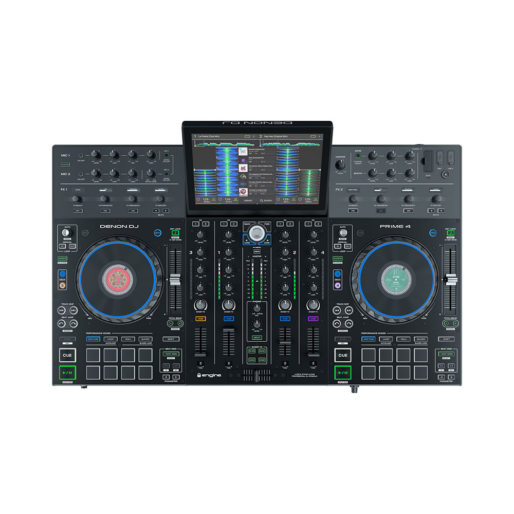 DENON DJ PRIME4 スタンドアローンDJシステム 4ch 【デノン】