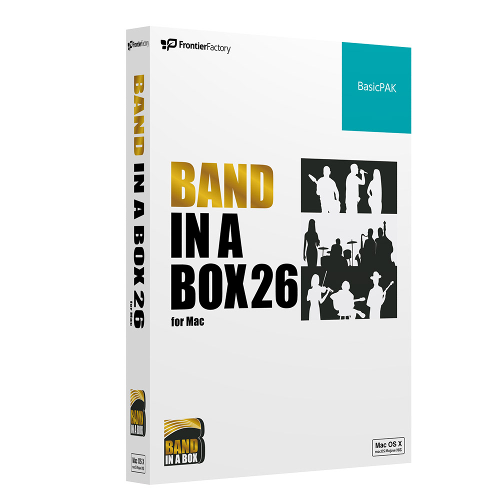 PGmusic Band in a Box 26 for Mac BasicPAK 自動作曲ソフト 【PGミュージック PGBBQBM111】
