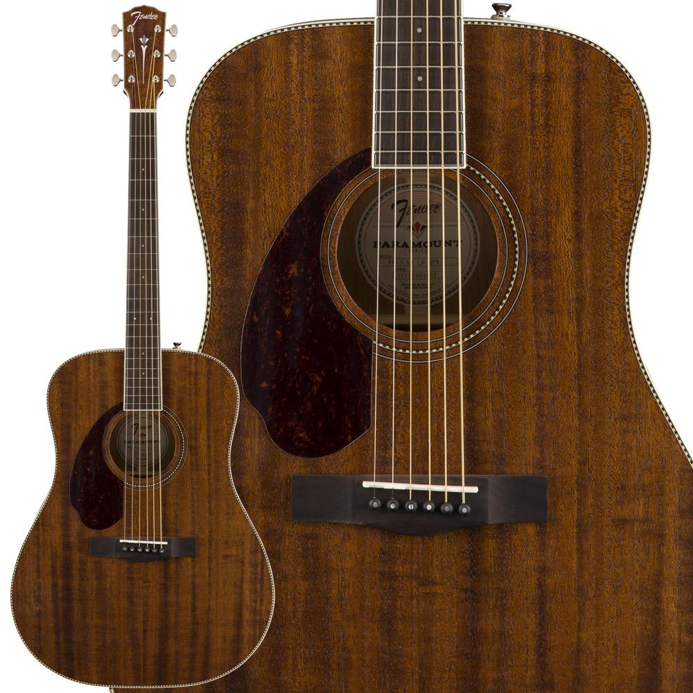 Fender PM-1 D ALL MAHO LH エレアコギター レフトハンドモデル 【フェンダー】