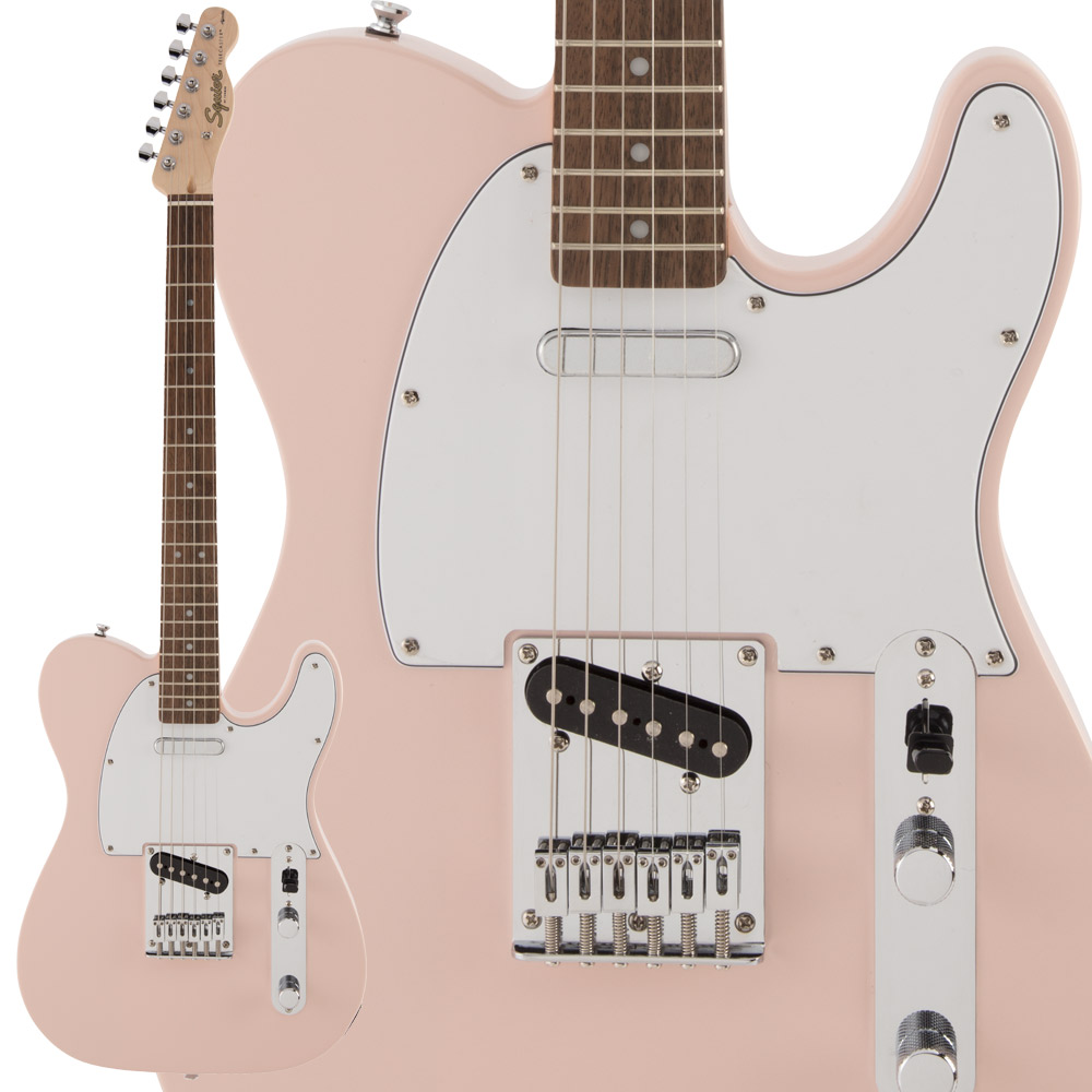 Squier by Fender FSR/ Affinity Pink Series Telecaster FSR Laurel Fingerboard Shell Pink エレキギター テレキャスター【スクワイヤー/ スクワイア】【数量限定品】, 共同ガーデンクラブ:816a0cce --- sunward.msk.ru