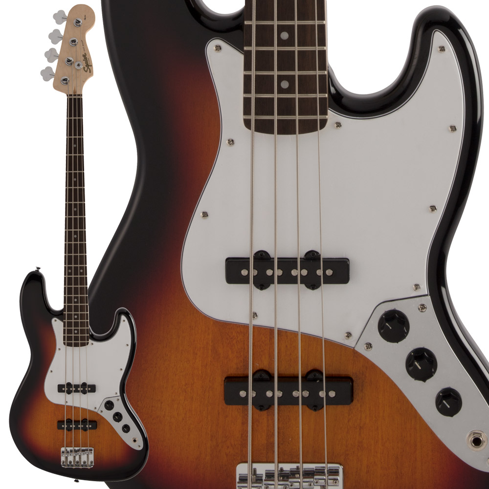Squier by Fender FSR Affinity Series Jazz Bass Laurel Fingerboard 3-Color Sunburst エレキベース 【スクワイヤー / スクワイア】【数量限定品】