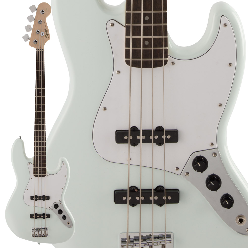 Squier by Fender FSR Affinity SeriesTM Jazz Bass Laurel Fingerboard Sonic Blue エレキベース 【スクワイヤー / スクワイア】【数量限定品】